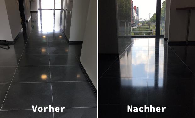 Kristallisation von Natursteinböden - Ihre Kölner Heinzelmännchen